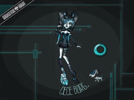 Monster High Contest- CeCe Borg by CelviJo