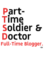 Part Time Soldier and Doctor by whodyathink