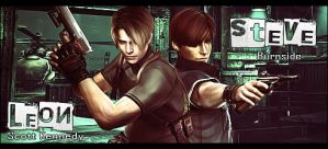 Leon and Steve by snakeff7