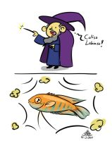 The Fish Wizard by poecillia-gracilis19