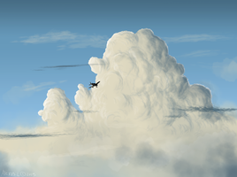 Cloud practice by Minionwolf711
