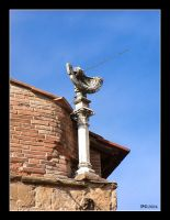 Sundial on the roof by penelopew