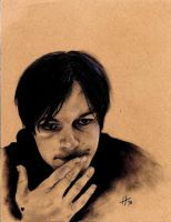 Norman Reedus by split-seamz