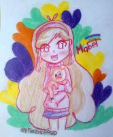 Mabel Pines Anime !!!   ^3^ by FerzyPPGD