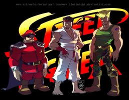 Street fighter by artnerdx