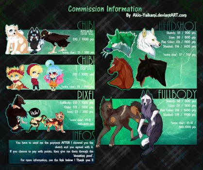 Commision Information by CrowTastik