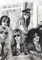 Guns N' Roses by deanaxlrose