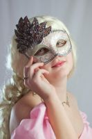 Masked Princess by Della-Stock