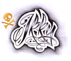 Commission lettering 1 by WillemXSM