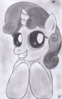 Sweetie Belle by DarkMysteryCat