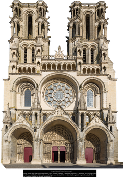 Laon Cathedral by droin1970 by droin1970