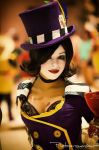A-kon 24 Mad Moxxi - Sly Smile by Enasni-V