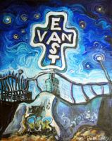 East Van Cross by Laurazee