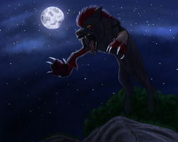 Night killer by Liraelwolf