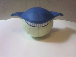 Wailmer Papercraft by kyogre92