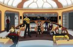 Star Trek Celebration by Sean-Loco-ODonnell by LoneStranger