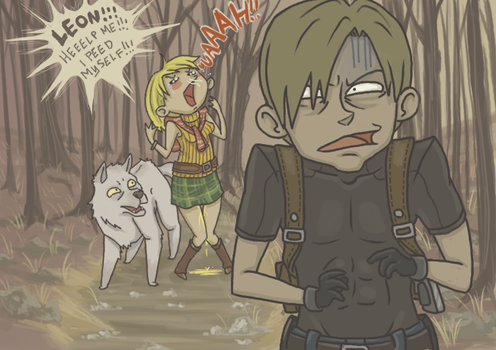 RE4: SuperSoaked by sparkyHERO