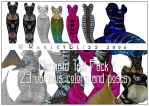Mermaid Tail Pack2 by HarleyBliss