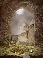 PREMIUM background - A Medieval-Place7 by Euselia
