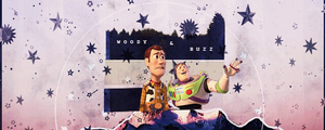 Woody x Buzz (gif) by Medievaal