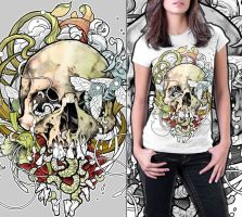 Scull by sick-sight