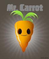 Mr. Carrot by emiralan