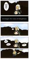 Blue's First Crappy Skyrim Comic by Blue-and-Dog