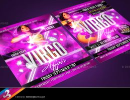 Virgo Affair Flyer by AnotherBcreation