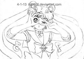 Welcome Back Sailor Moon 2013 WIP by Kitti606