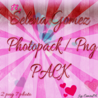 SelenaGomez PhotoPng Pack by CemreDrew