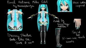 FINAL Dreamy Theater 2nd Hatsune Miku!!! by therealdorutza