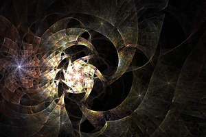 Wrapped In Plastic - Fractal Art by CMWVisualArts
