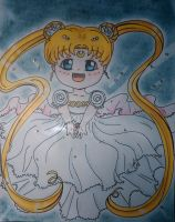 Princess Serenity by YueTsukishiro