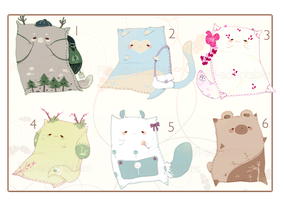 [CLOSED] ADOPT AUCTION 118 - Pet Pillow by Piffi-adoptables
