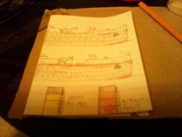 RMS Olympic and Gigantic by thesketchydude13