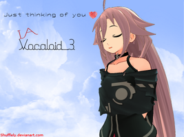 Just Thinking you - IA Vocaloid 3 by Shufflely
