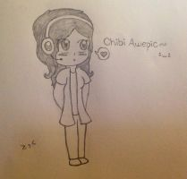 ......Chibi Sketch? ( Optional RP ) by AwepicNess70