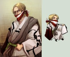 Comish - OC - Bleach char 1 by oneoftwo