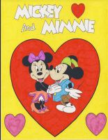 Mickey Mouse Loves Minnie by RoyPrince
