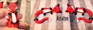 Ear Critters - Foxy Fox Plugs by Artalyn