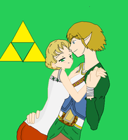 Ilia x Link by thouartfan