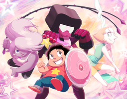 FF: We are the Crystal Gems by DragginCat