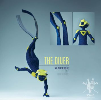 [NF] The Diver by ZimtBeadwork