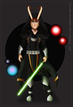 -loki jedi - by pitchblack1994