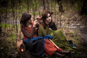 Women of the forest, resting by Nivelis