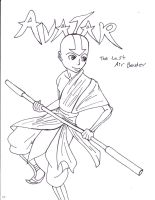 Aang by Suemoons