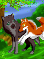 I Come with you- contest entry by xXBlackwolfangelXx