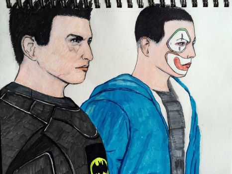 Vanoss and H2O Delirious by migz7