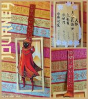 Journey bookmark - Made by a friend by taiyakitsune