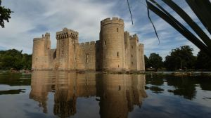 Bodiam Castle from the moat by egypt04